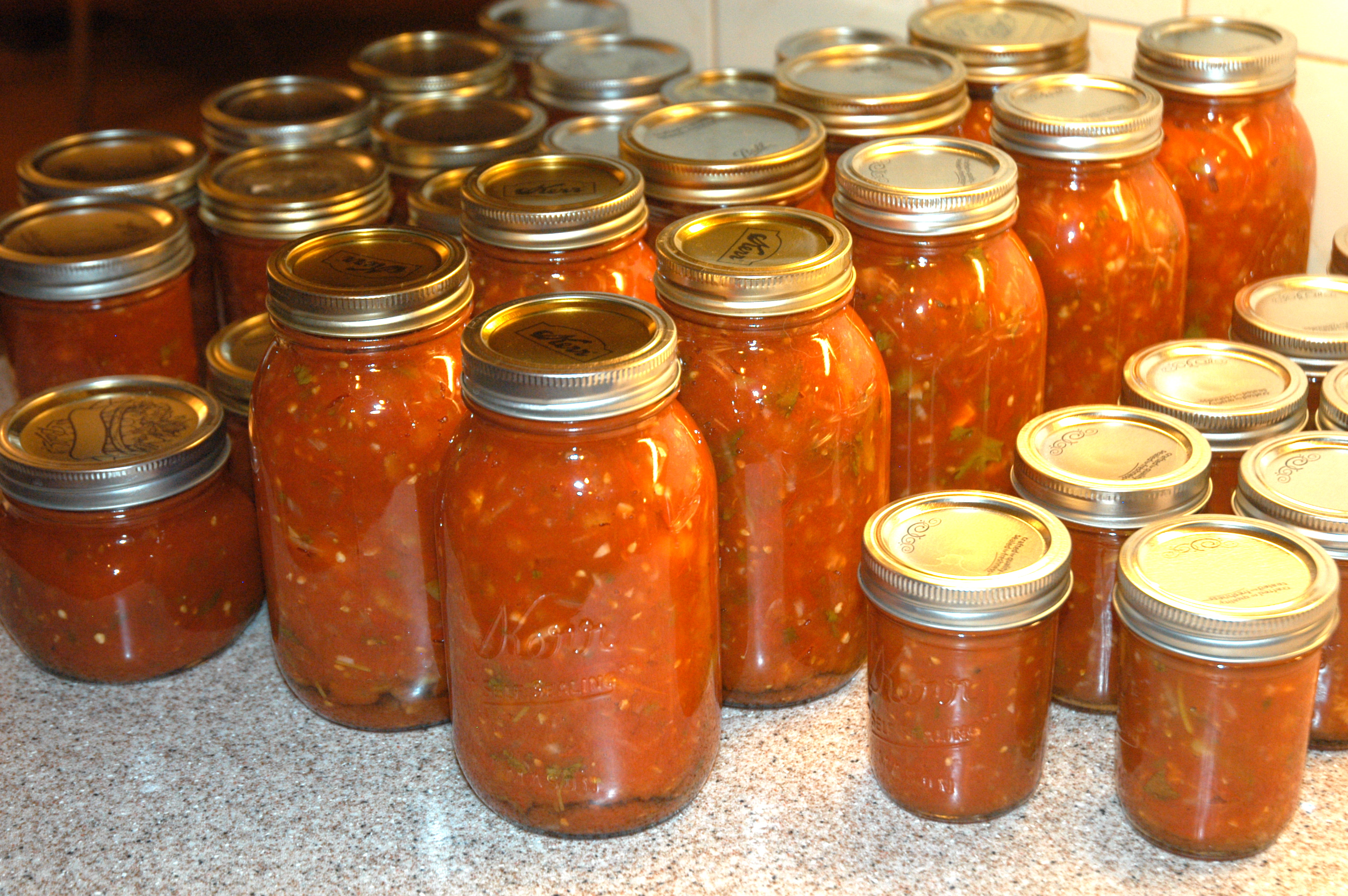 Canning: Salsa | Simplest Things