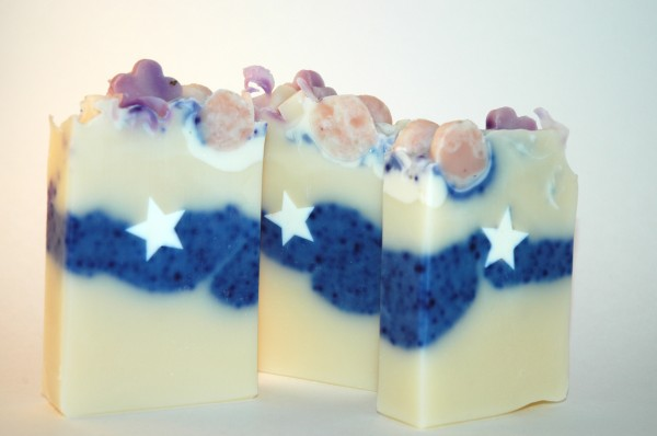 Lavender Picture Soap